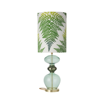Lampe a poser fern leaves graphic vert o30cm h92cm ebb and flow normal
