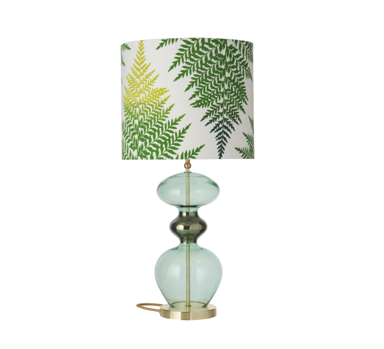 Fern leaves graphic  lampe a poser table lamp  ebb and flow ba101017 sh101016  design signed 39642 product