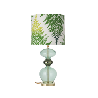 Lampe a poser fern leaves graphic vert o35cm h82cm ebb and flow normal