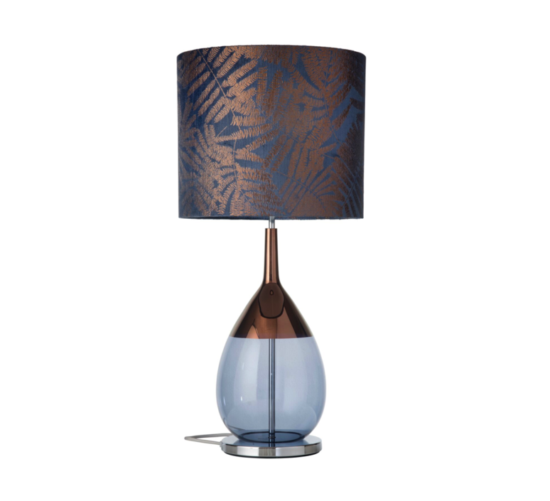 Fern leaves wild  lampe a poser table lamp  ebb and flow ba101003 sh101028  design signed 39647 product