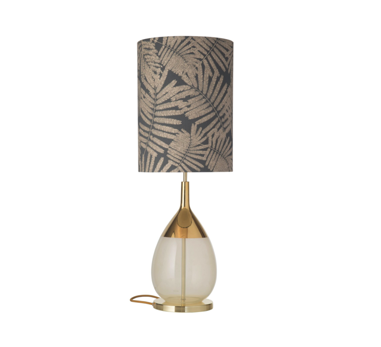 Fern leaves wild  lampe a poser table lamp  ebb and flow ba101014 sh101056  design signed 39705 product