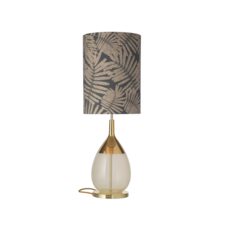 Fern leaves wild  lampe a poser table lamp  ebb and flow ba101014 sh101056  design signed 39705 thumb