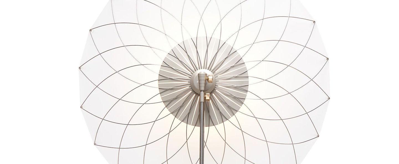 Lampe a poser filigree transparent led l80cm h240cm moooi normal