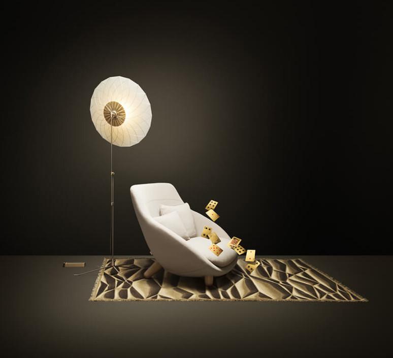 Filigree rick tegelaar lampe a poser table lamp  moooi molfif   design signed 57091 product