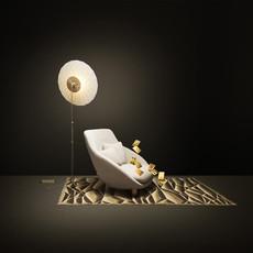 Filigree rick tegelaar lampe a poser table lamp  moooi molfif   design signed 57091 thumb