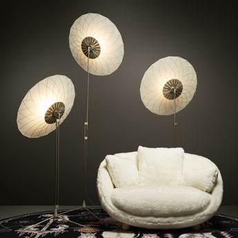 Lampe a poser filigree transparent led l80cm h240cm moooi normal