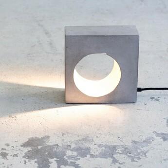 Lampe a poser flastaire gris l21 5cm h21 5cm serax normal