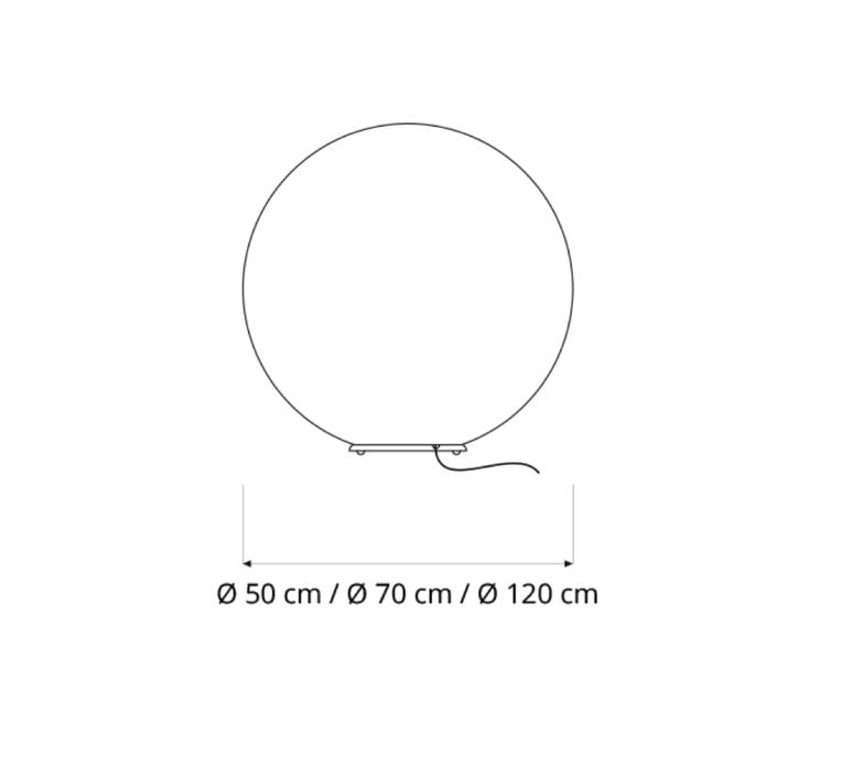 Floor moon 2  lampe a poser floor light  in es artdesign in es070011  design signed 38666 product