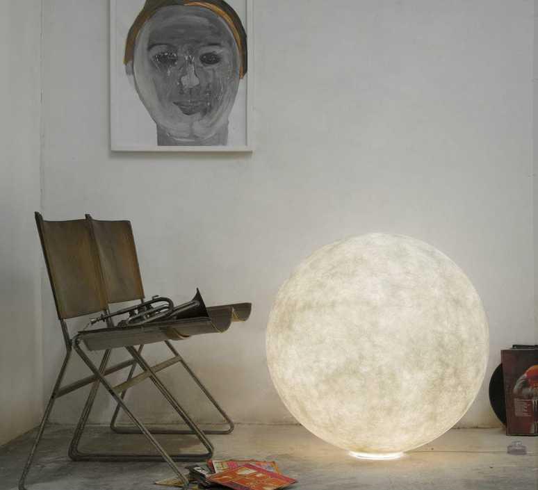 Floor moon 3  lampe a poser floor light  in es artdesign in es070012  design signed 38667 product