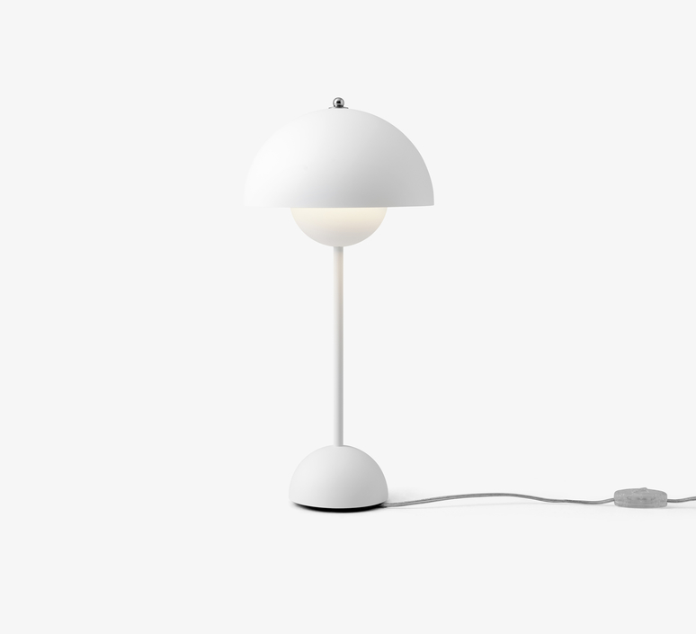 Flowerpot vp3 verner panton lampe a poser table lamp  andtradition 20723101  design signed 56813 product