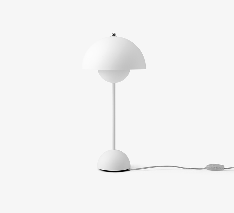 Flowerpot vp3 verner panton lampe a poser table lamp  andtradition 20723101  design signed 56814 product
