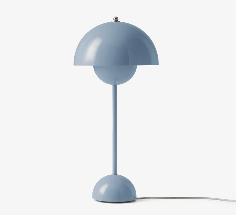 Flowerpot vp3 verner panton lampe a poser table lamp  andtradition 20725201  design signed nedgis 88474 product