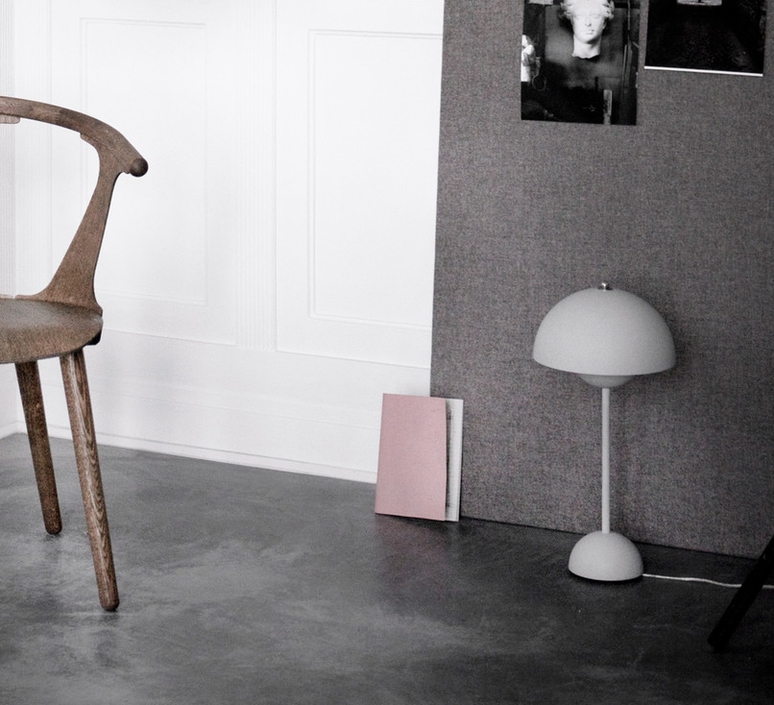 Flowerpot vp3 verne panton andtradition 20729101 luminaire lighting design signed 28800 product