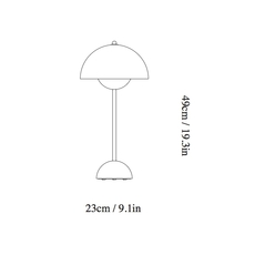 Flowerpot vp3 verne panton andtradition 20729101 luminaire lighting design signed 28802 thumb