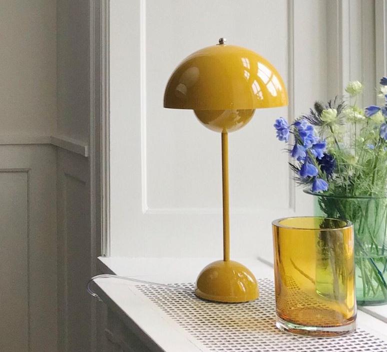 Flowerpot vp3 verne panton andtradition 20723001 luminaire lighting design signed 56917 product
