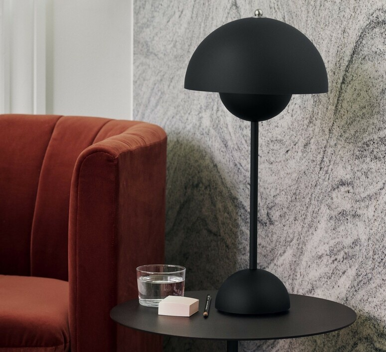Flowerpot vp3 verner panton lampe a poser table lamp  andtradition 20729501  design signed nedgis 88463 product