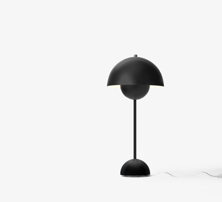 Flowerpot vp3 verner panton lampe a poser table lamp  andtradition 20729501  design signed nedgis 88464 product