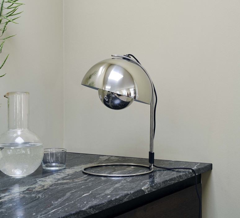 Flowerpot vp4 verner panton lampe a poser table lamp  andtradition 20739902  design signed 60852 product