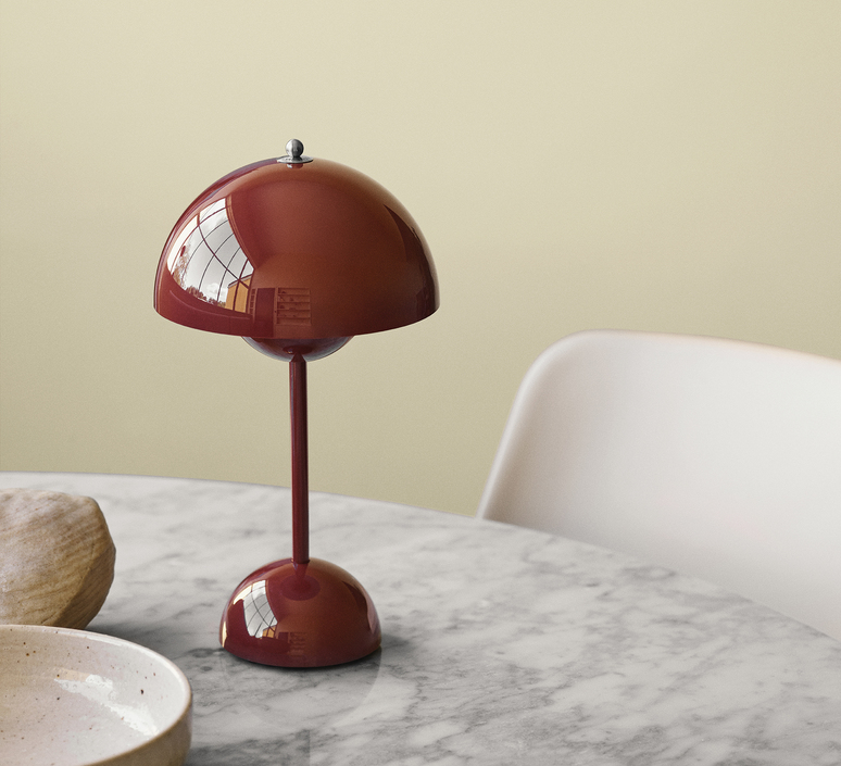 Flowerpot vp9 verner panton lampe a poser table lamp  andtradition 20754501  design signed nedgis 92915 product