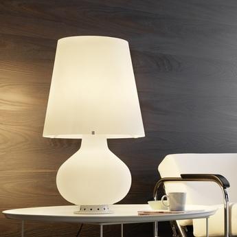 Lampe a poser fontana blanc h78cm fontana arte normal