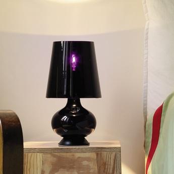 Lampe a poser fontana noir h34cm fontana arte normal