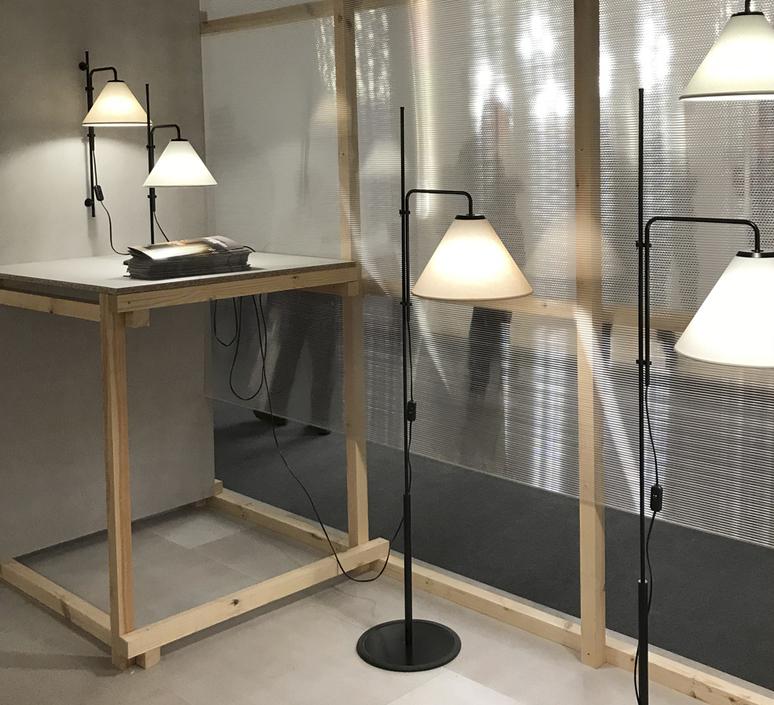 Funiculi fabric lluis porqueras lampe a poser table lamp  marset a641 406  design signed 61715 product