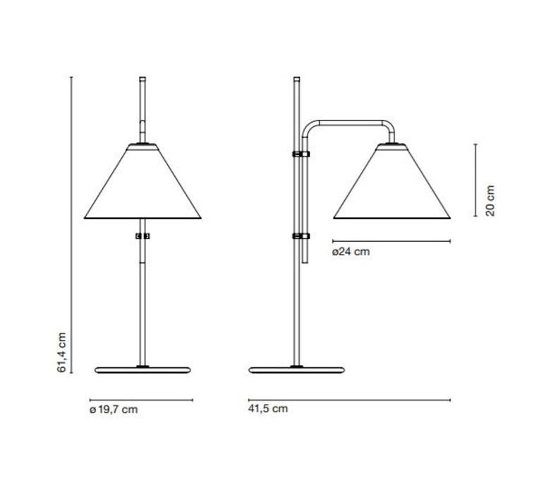 Funiculi fabric lluis porqueras lampe a poser table lamp  marset a641 406  design signed 61716 product
