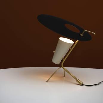 Lampe a poser g24 guariche noir o39cm h42cm sammode normal