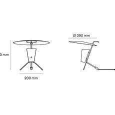 G24 guariche pierre guariche lampe a poser table lamp  sammode g24 bg ch ch  design signed nedgis 84646 thumb
