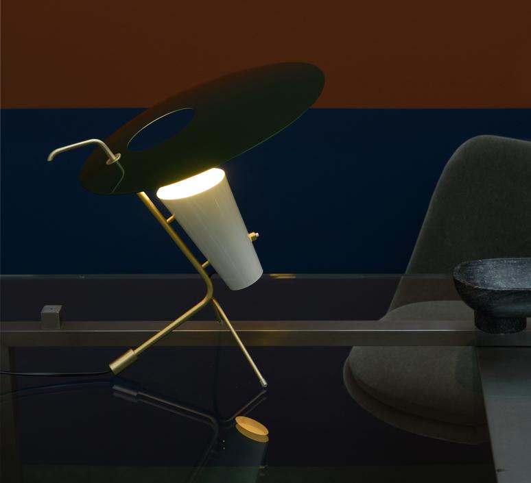 G24 guariche pierre guariche lampe a poser table lamp  sammode g24 bg ch ch  design signed nedgis 84649 product