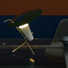 G24 guariche pierre guariche lampe a poser table lamp  sammode g24 bg ch ch  design signed nedgis 84649 thumb