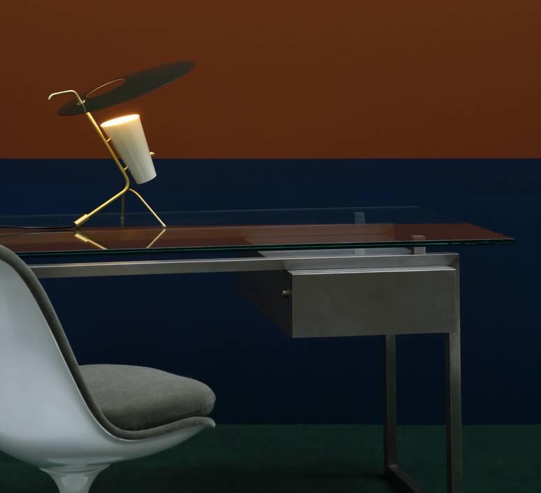 G24 guariche pierre guariche lampe a poser table lamp  sammode g24 bg ch ch  design signed nedgis 84650 product