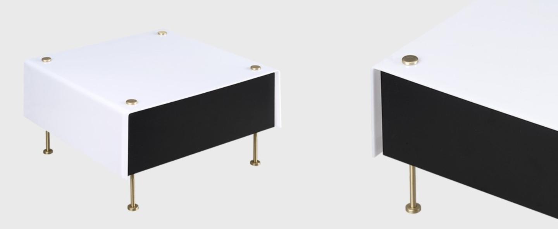 Lampe a poser g60 noir et blanc o27cm h20cm sammode normal
