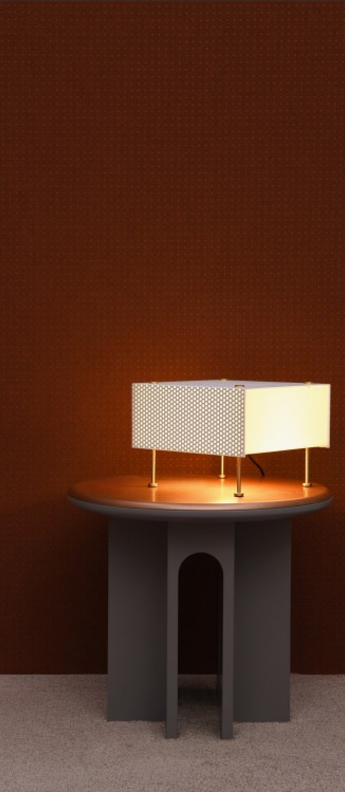 Lampe a poser g61 blanc o27cm h20cm sammode normal