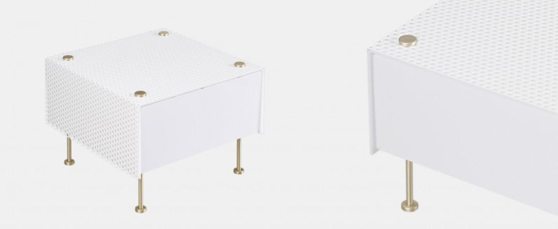 Lampe a poser g61 blanc o33cm h20cm sammode normal