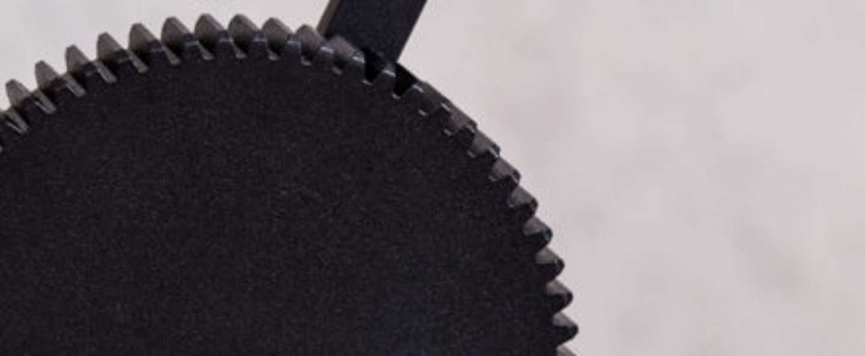 Lampe a poser gear single noir l38cm h65 85cm northern lighting normal