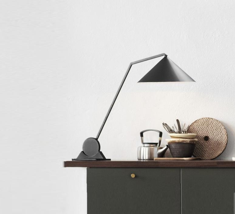 Gear single johan lindsten lampe a poser table lamp  norhtern lighting 411  design signed 55497 product