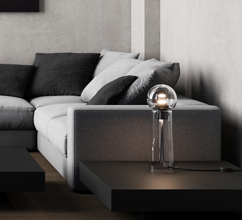 Gigi table alexandre joncas gildas le bars lampe a poser table lamp  d armes gitact2  design signed nedgis 123515 product