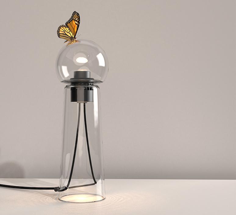 Gigi table alexandre joncas gildas le bars lampe a poser table lamp  d armes gitact2  design signed nedgis 123517 product