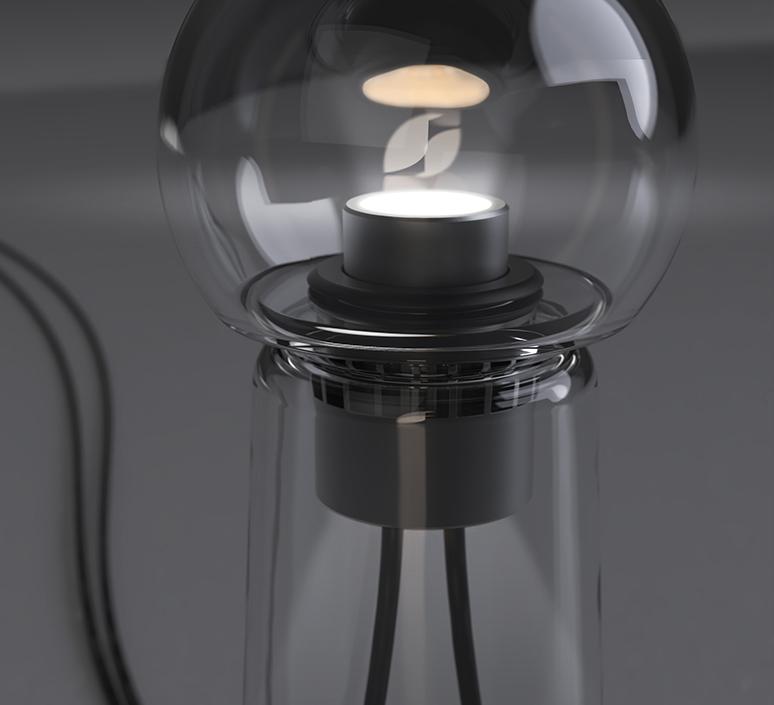 Gigi table alexandre joncas gildas le bars lampe a poser table lamp  d armes gitact2  design signed nedgis 123520 product