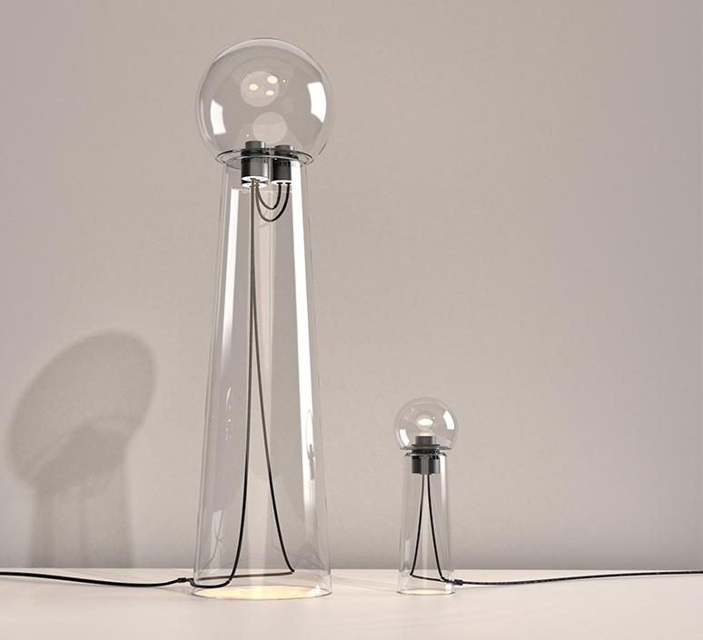 Gigi table alexandre joncas gildas le bars lampe a poser table lamp  d armes gitact2  design signed nedgis 123522 product