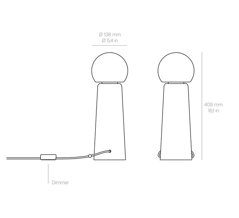 Gigi table alexandre joncas gildas le bars lampe a poser table lamp  d armes gitact2  design signed nedgis 123523 product