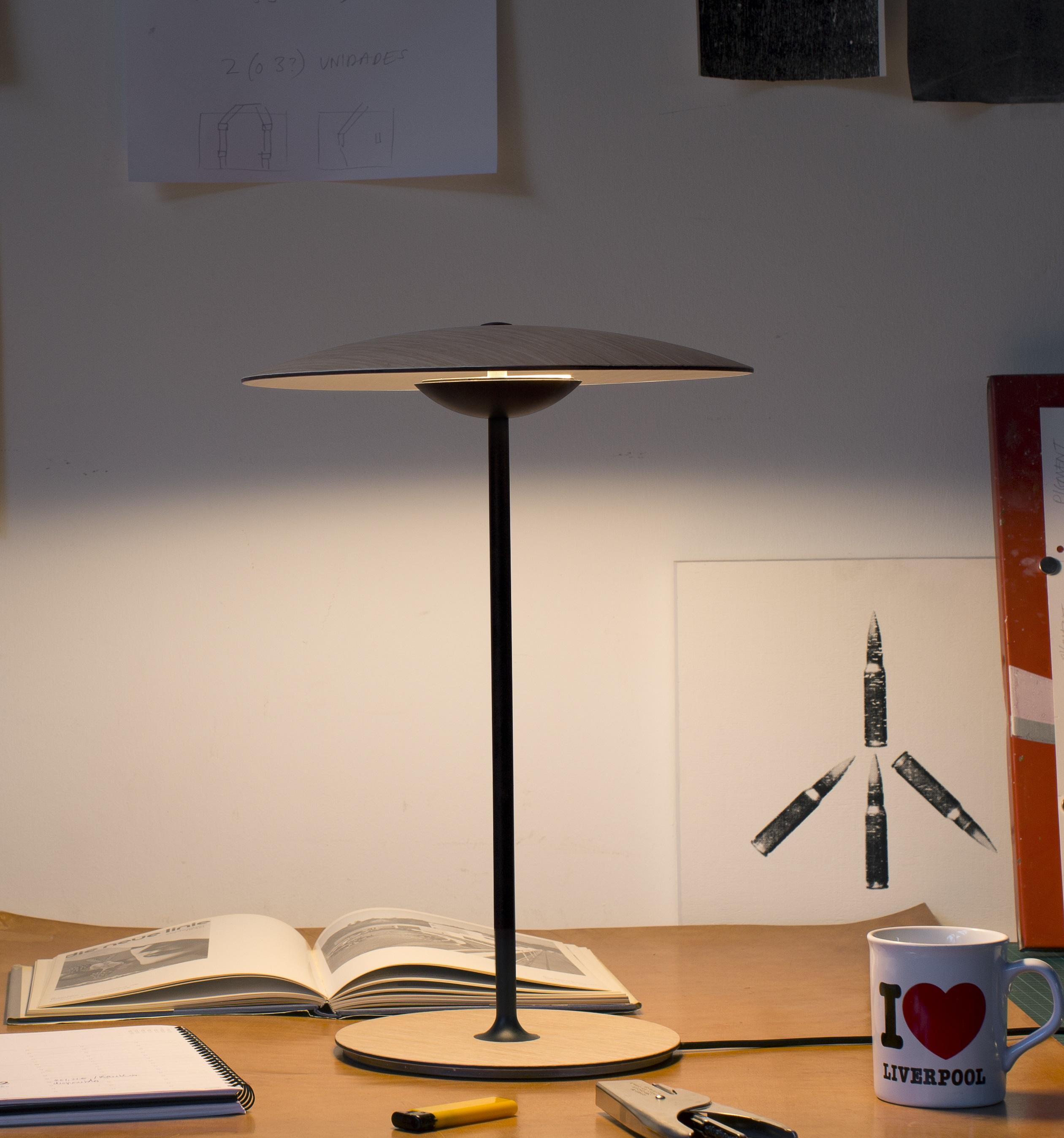 ginger lighting. Lampe A Poser Ginger Chene Led H46 5cm Marset Normal Lighting