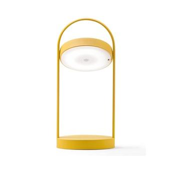 Lampe a poser giravolta 1799 jaune led 3000k 157lm o15cm h33cm pedrali normal
