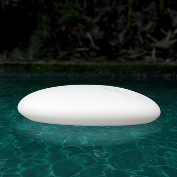 Lampe a poser glouglou pol flotteur blanc o40cm martinelli luce normal