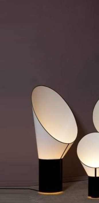 Lampe a poser grand cargo noir blanc h117cm designheure normal