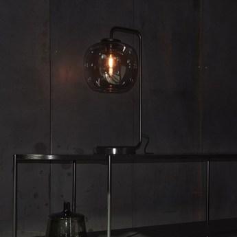 Lampe a poser grape noir o25cm h58cm bolia normal
