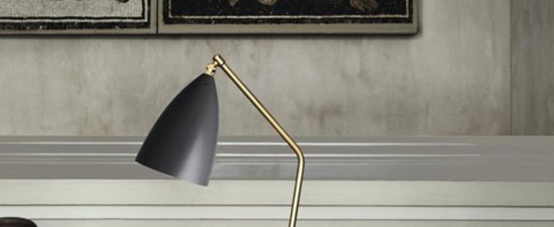 Lampe a poser grasshopper noir h41 2cm o14 4cm gubi normal