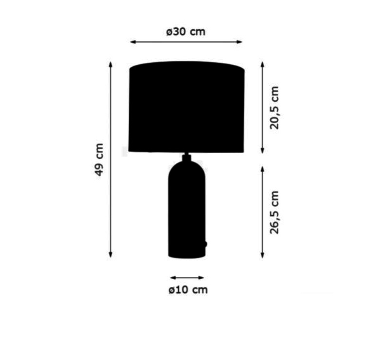 Gravity l space copenhagen lampe a poser table lamp  gubi 011 03154 06  design signed 89043 product