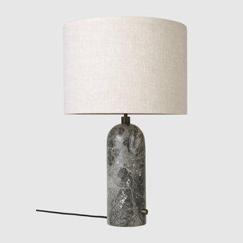 Lampe a poser gravity l gris marbre o41cm p65cm gubi 011 03154 06 normal